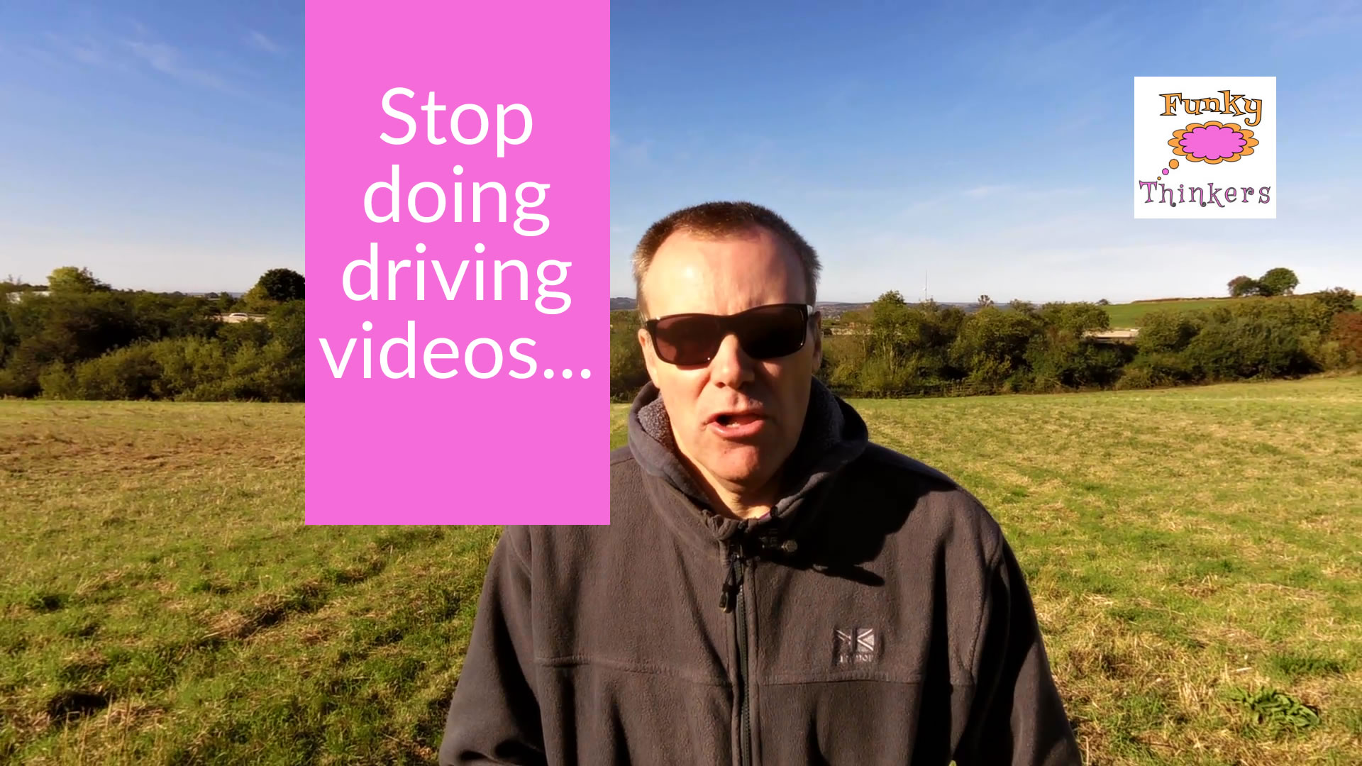 Stop doing driving videos
