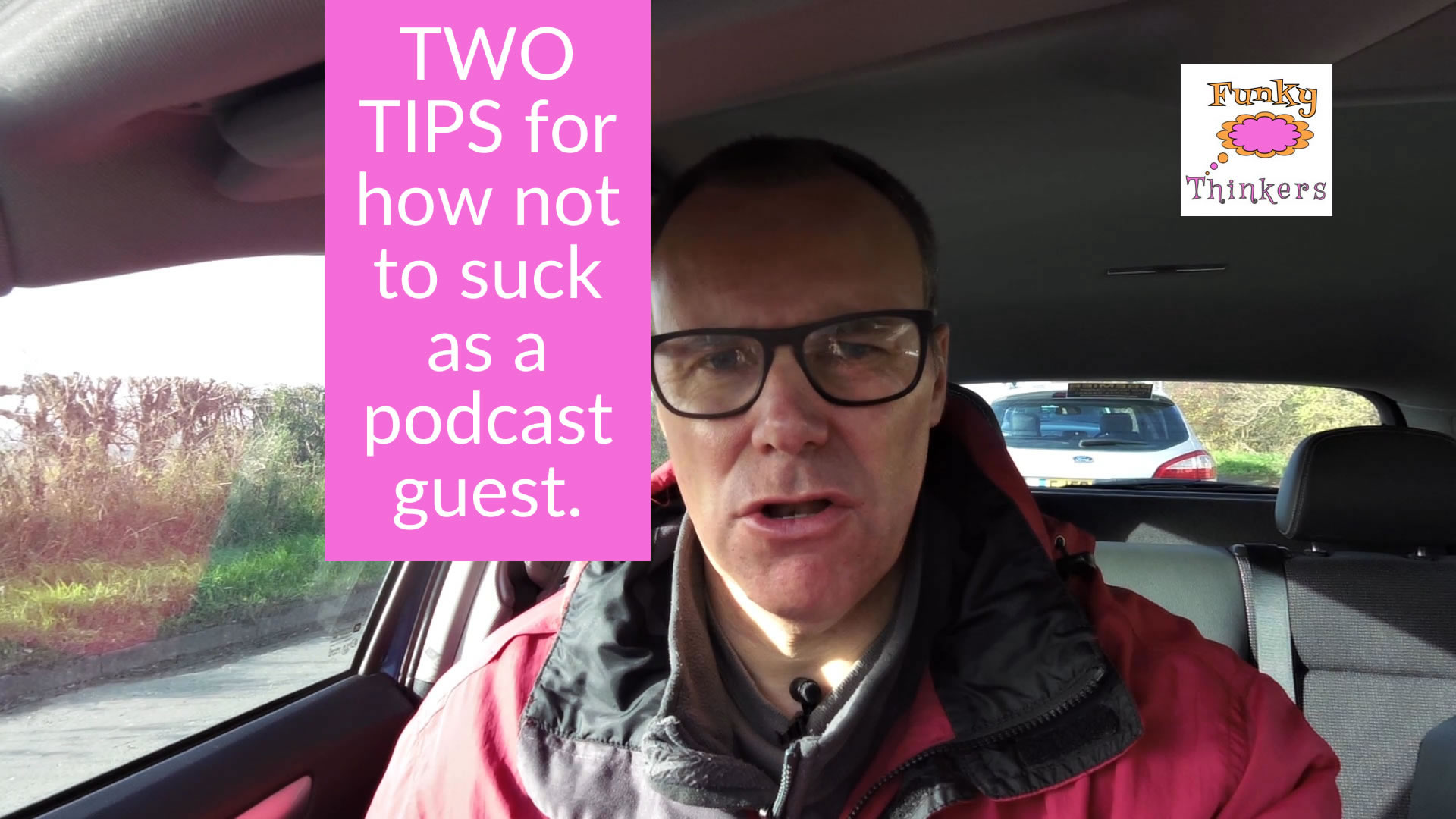 two tips how not to suck as a podcast guest