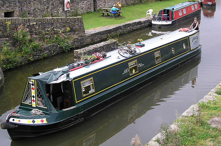 living on a canal boat