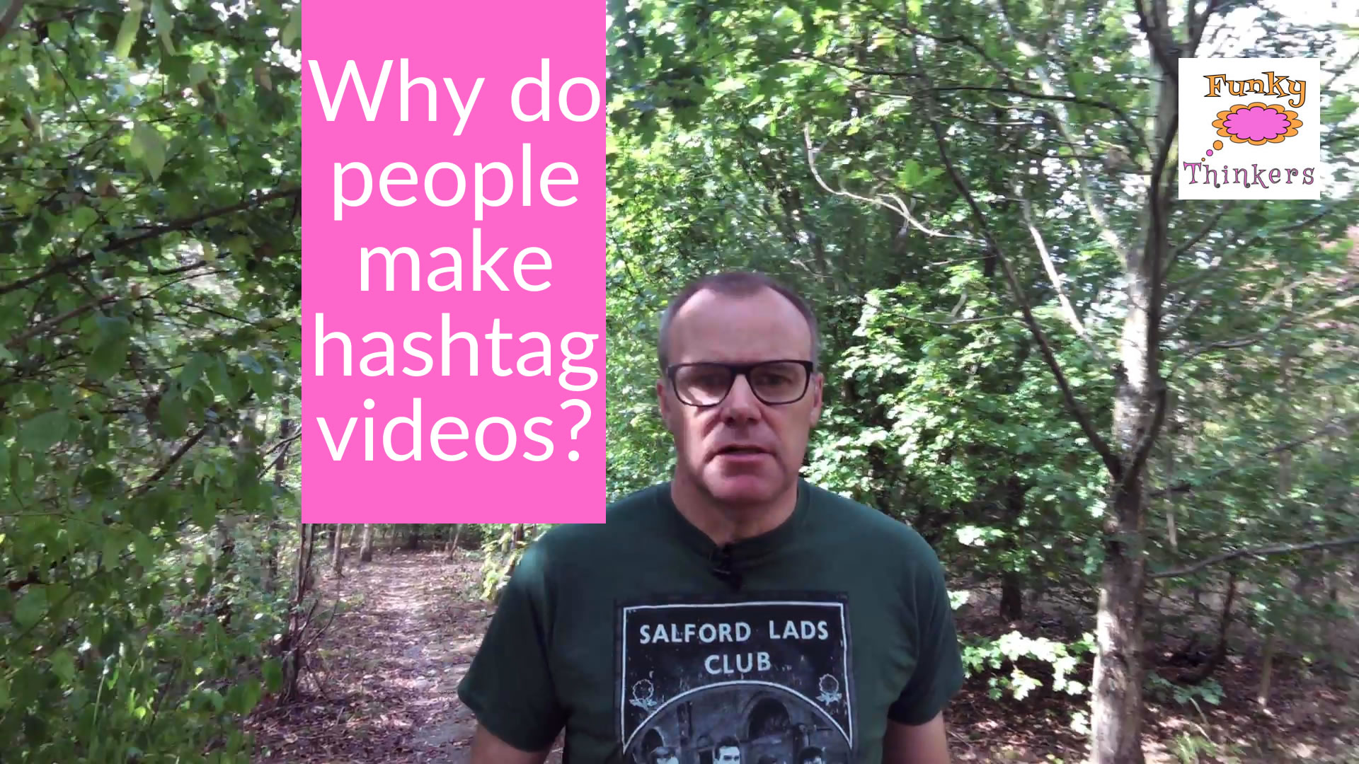 why do people make hashtag videos