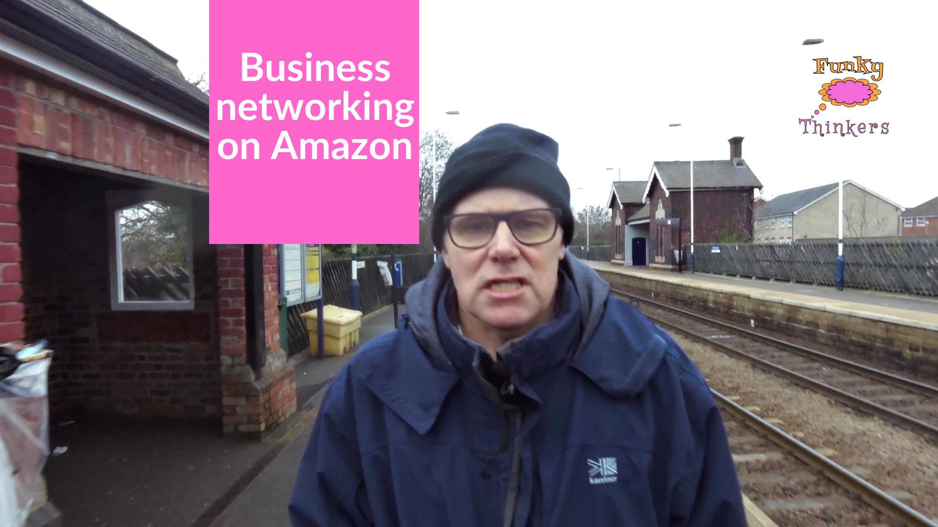 business networking on amazon