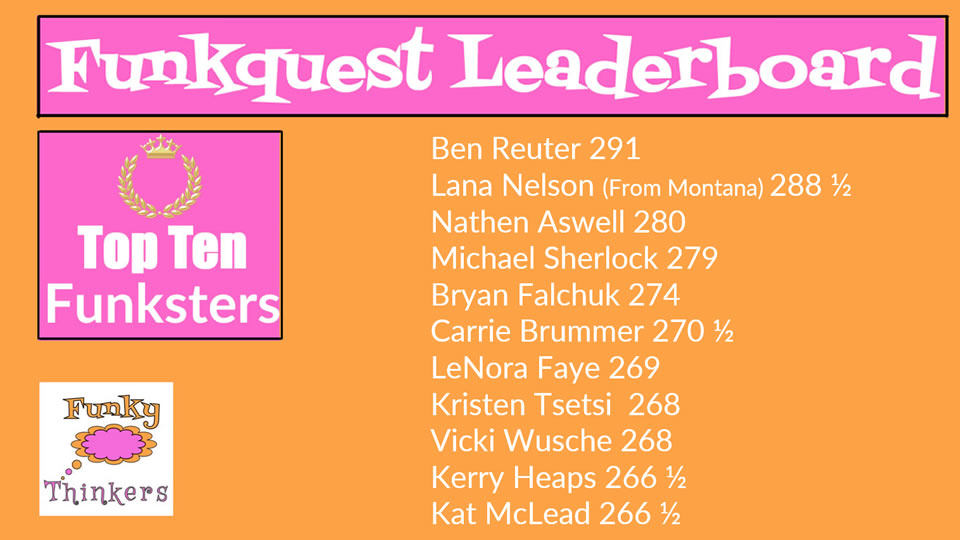 Kerry Heaps leaderboard