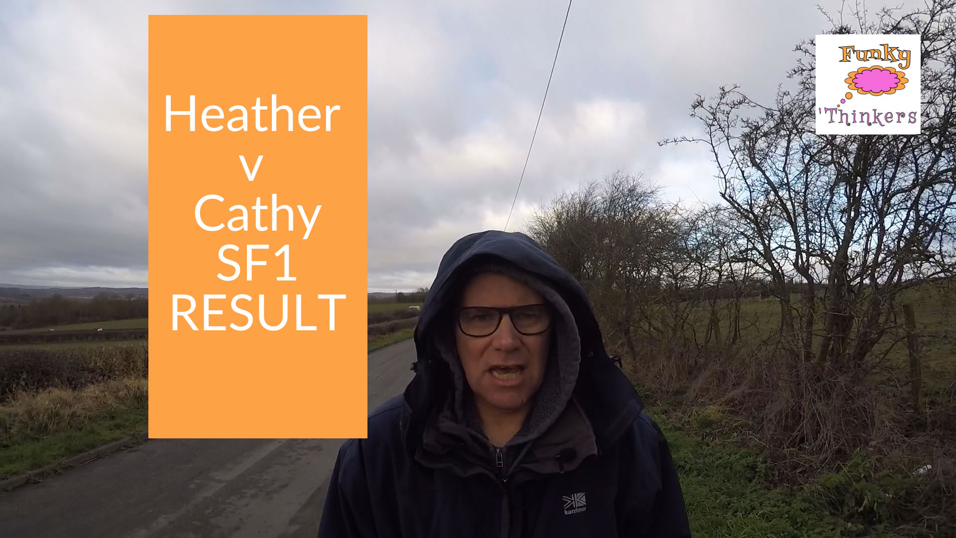 FunkQuest SF1 - Heather v Cathy Result