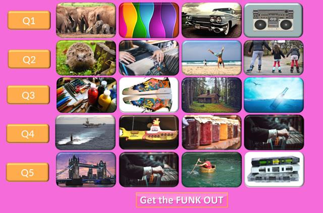 FunkQuest board