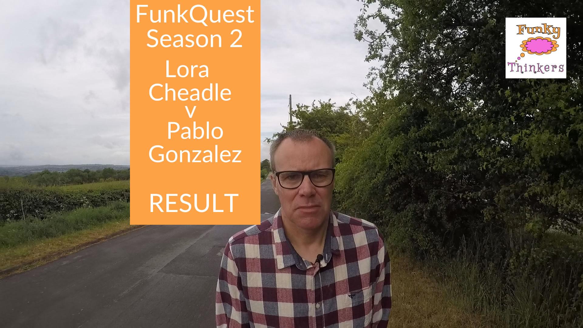 lora v pablo result